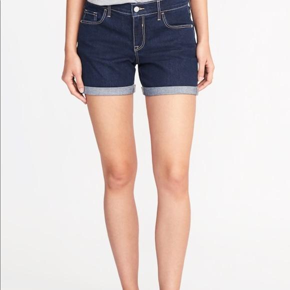 5 inch jean shorts